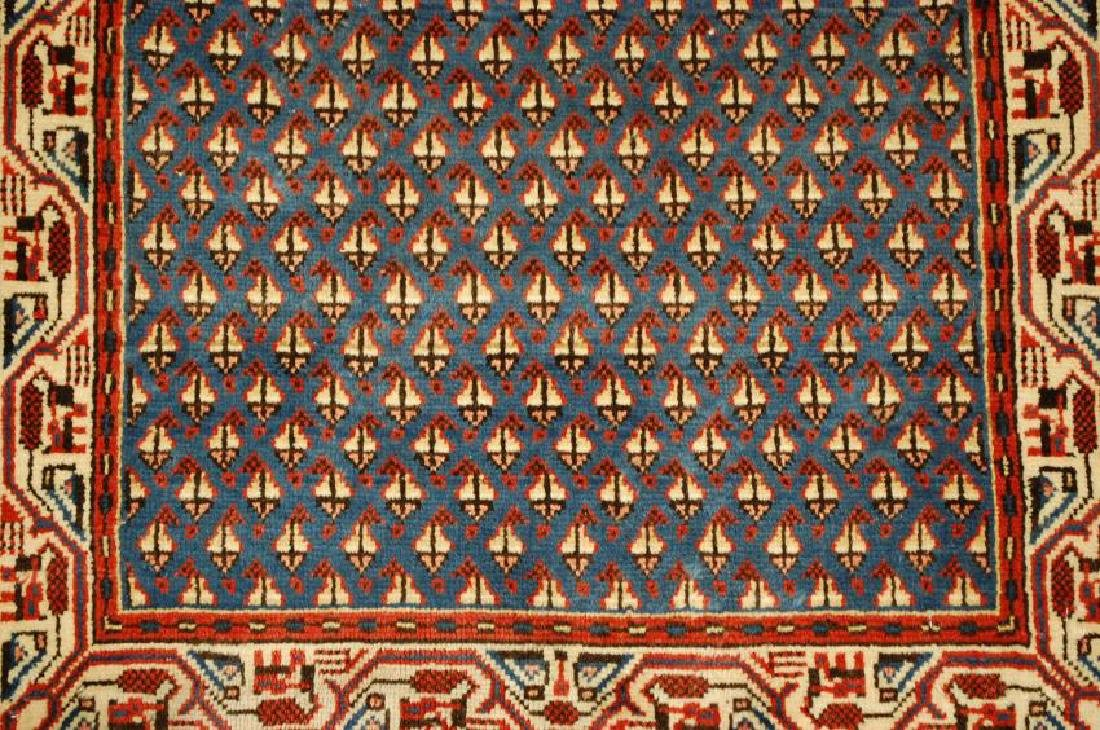 Persian Sarouk Rug 2.1x4 - 5