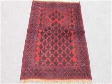 Semi Antique Wool on Wool Persian Balooch Rug 5x3