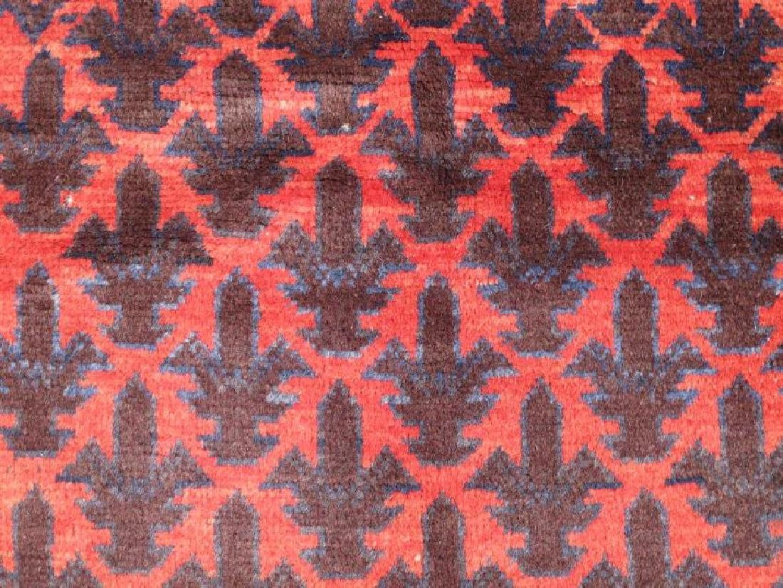 Semi Antique Wool on Wool Persian Balooch Rug 5x3 - 3