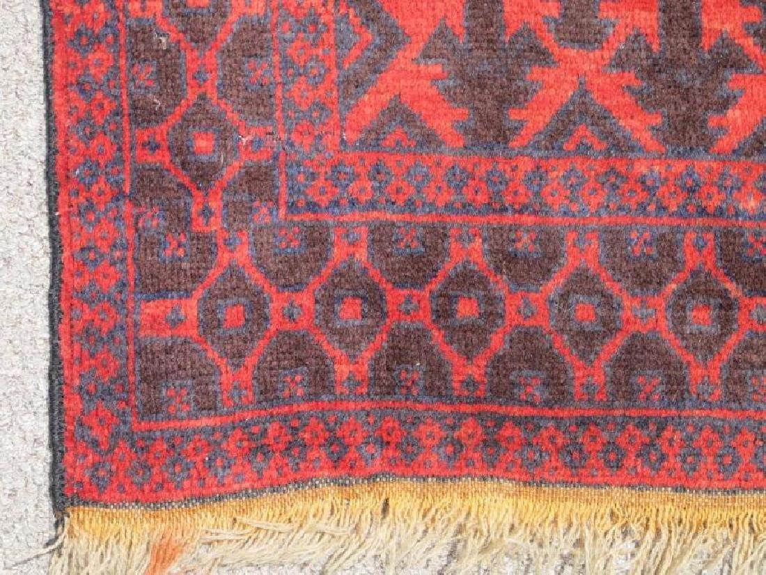 Semi Antique Wool on Wool Persian Balooch Rug 5x3 - 4