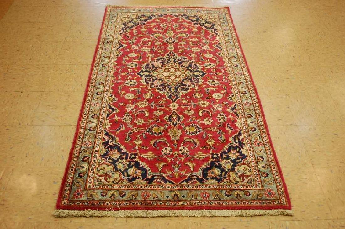 Persian Kashan Rug 3.7x6.9