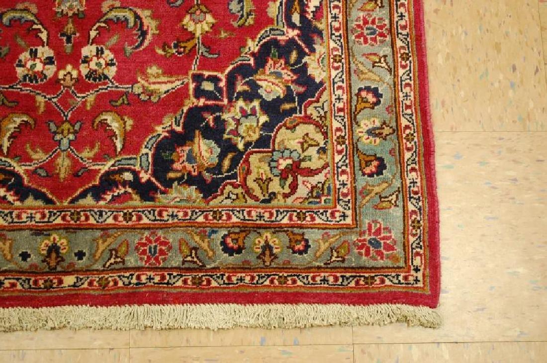 Persian Kashan Rug 3.7x6.9 - 2