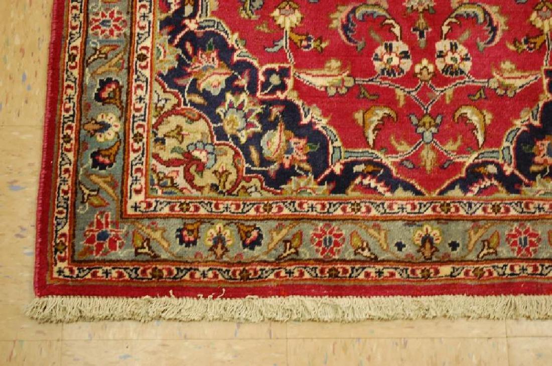 Persian Kashan Rug 3.7x6.9 - 3
