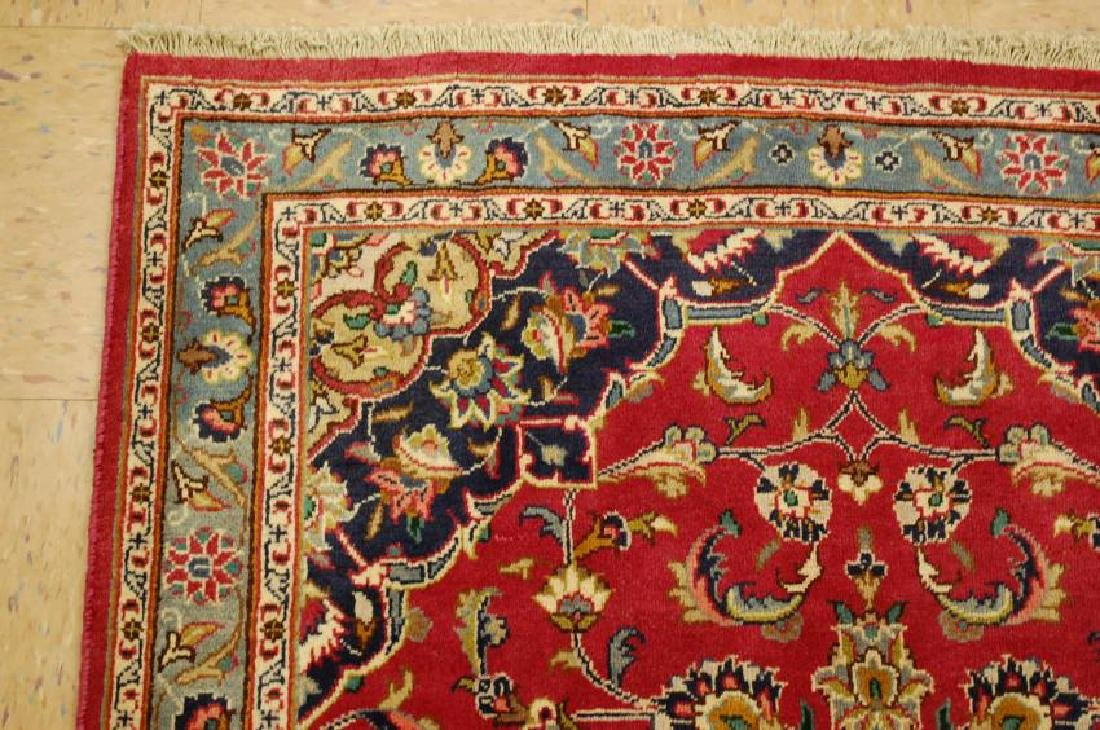 Persian Kashan Rug 3.7x6.9 - 4