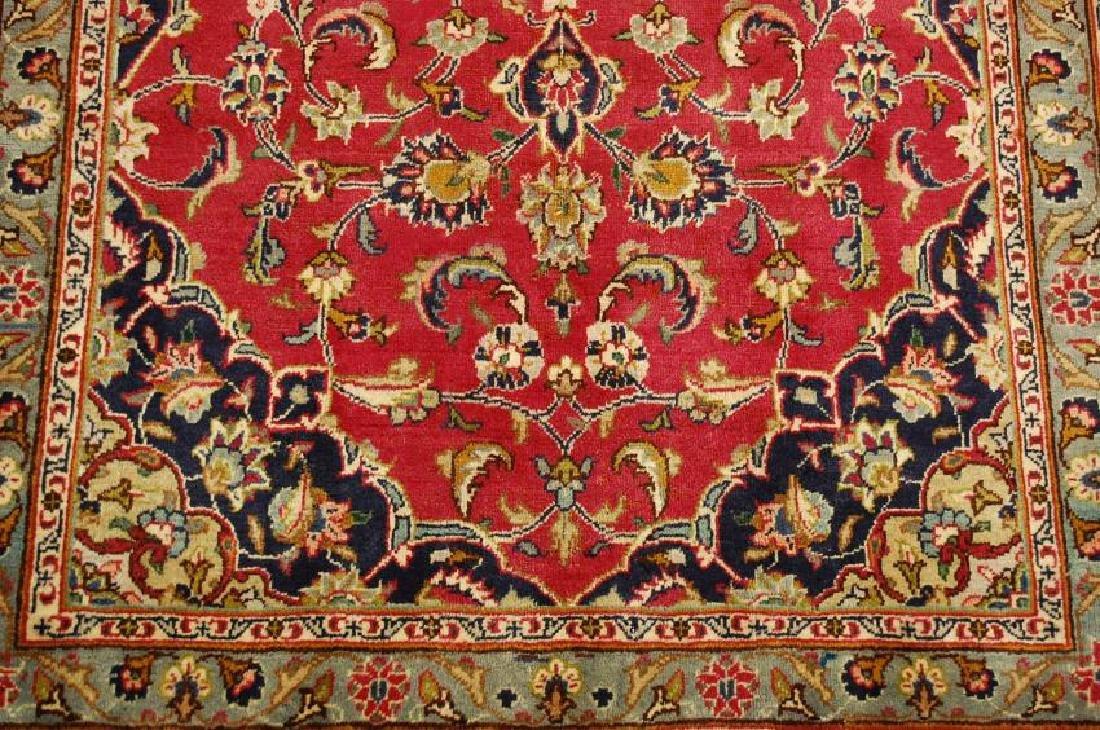 Persian Kashan Rug 3.7x6.9 - 6