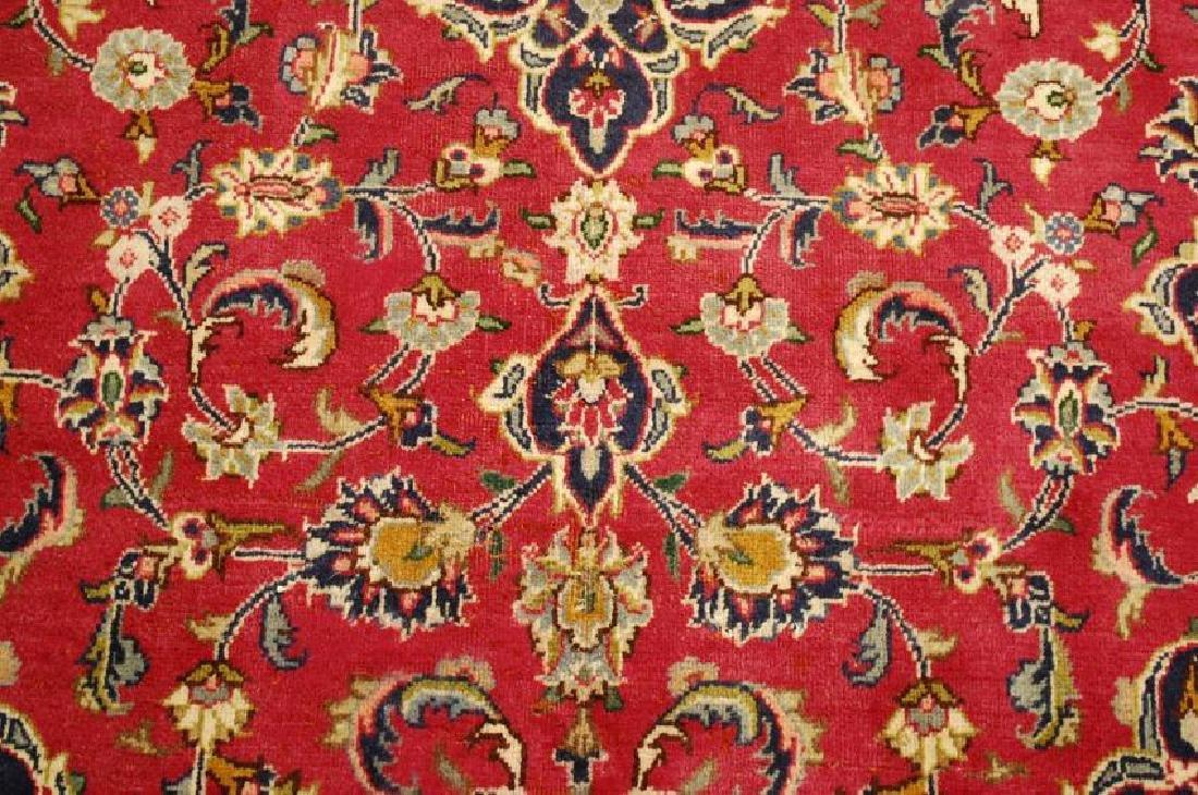 Persian Kashan Rug 3.7x6.9 - 7