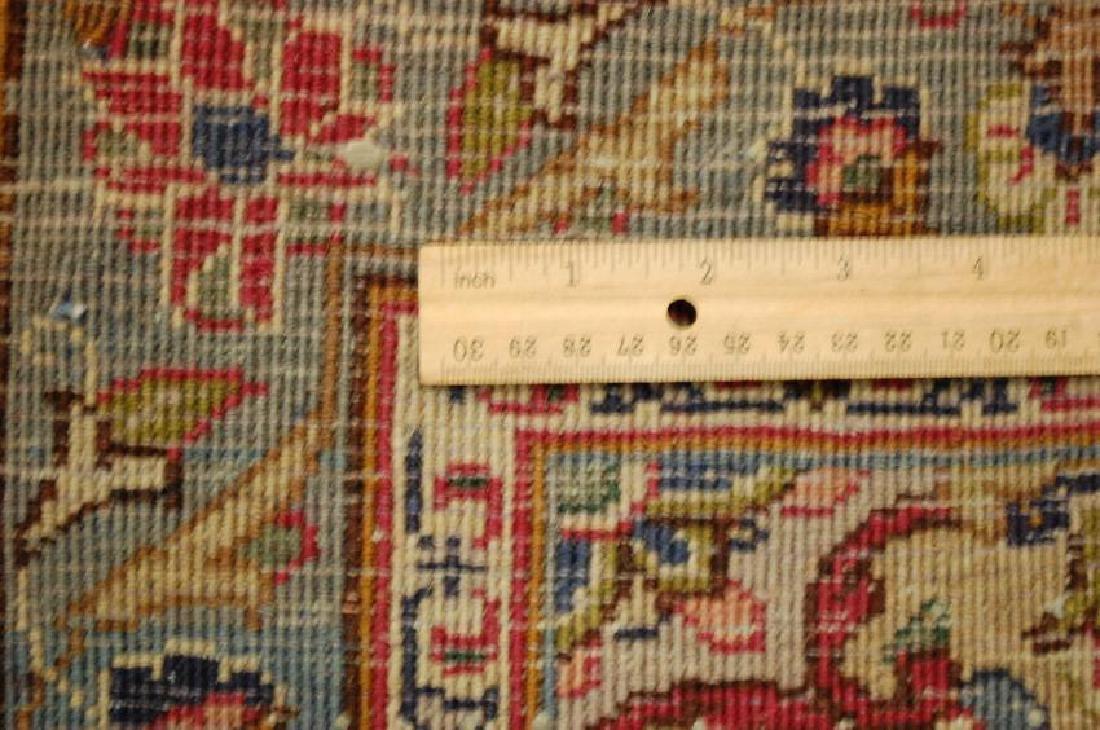 Persian Kashan Rug 3.7x6.9 - 8