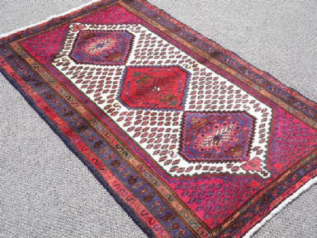 Hand Woven Persian Rug 5x3 - 2