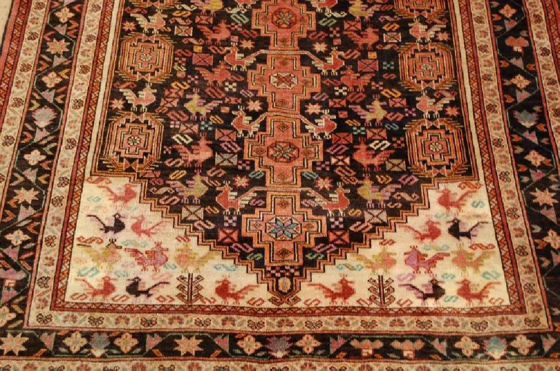 Vintage Persian Baluchi Baloochi Balochestan Rug 4.6x7 - 10