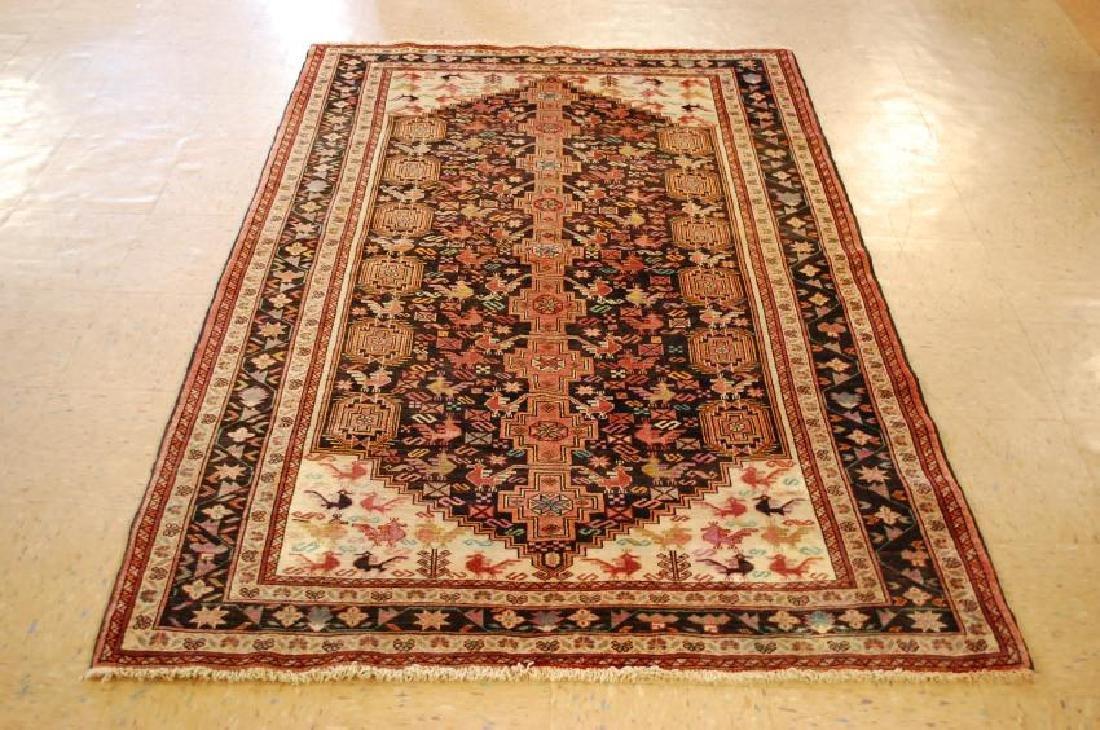 Vintage Persian Baluchi Baloochi Balochestan Rug 4.6x7