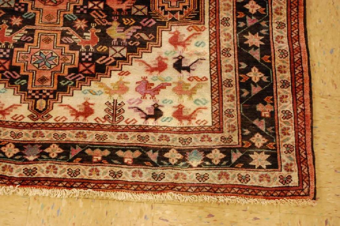 Vintage Persian Baluchi Baloochi Balochestan Rug 4.6x7 - 2