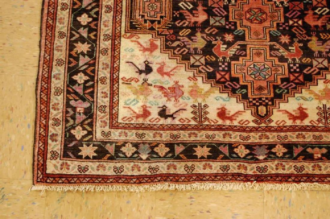 Vintage Persian Baluchi Baloochi Balochestan Rug 4.6x7 - 3