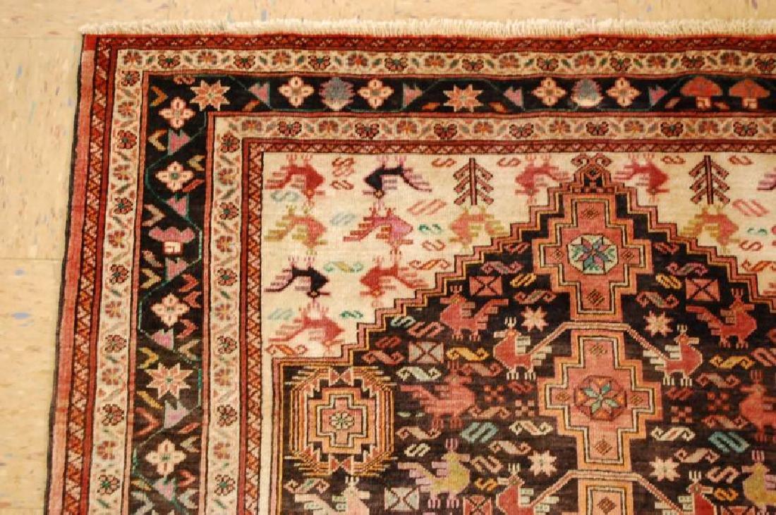 Vintage Persian Baluchi Baloochi Balochestan Rug 4.6x7 - 4