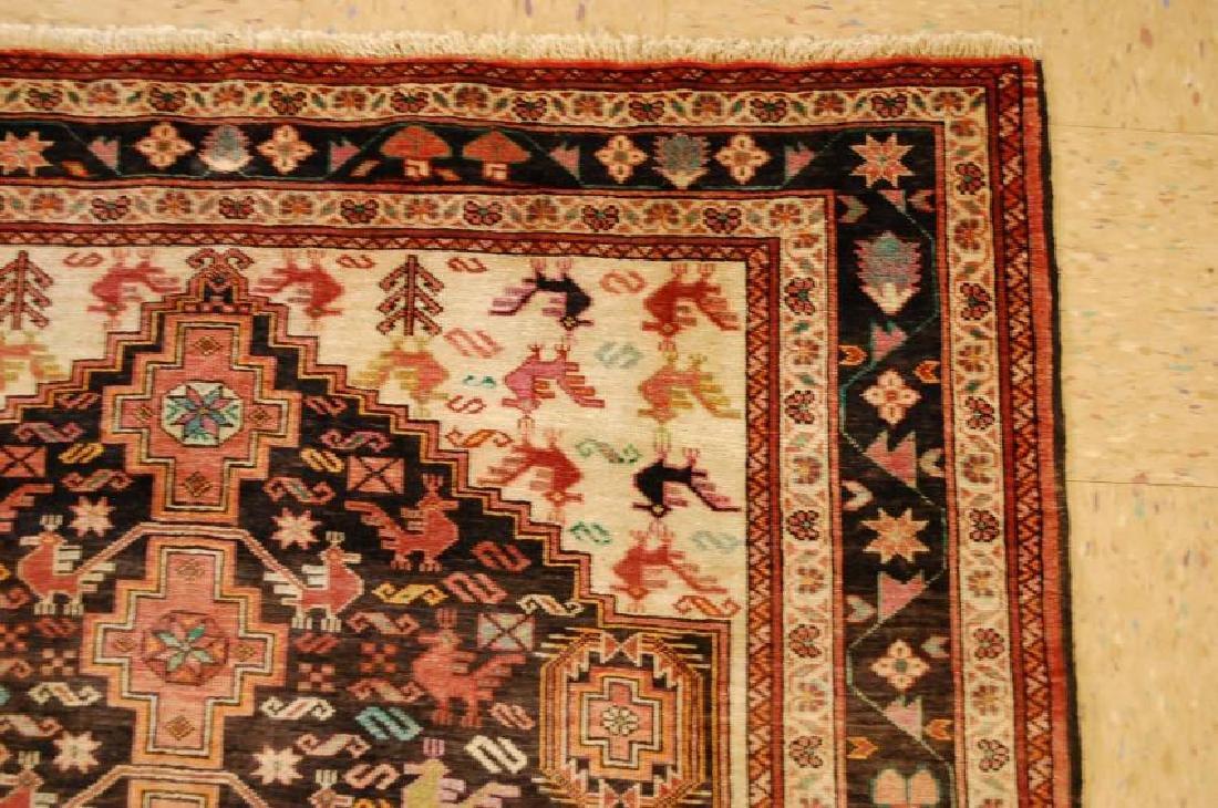 Vintage Persian Baluchi Baloochi Balochestan Rug 4.6x7 - 5