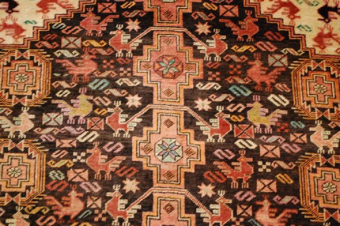 Vintage Persian Baluchi Baloochi Balochestan Rug 4.6x7 - 6