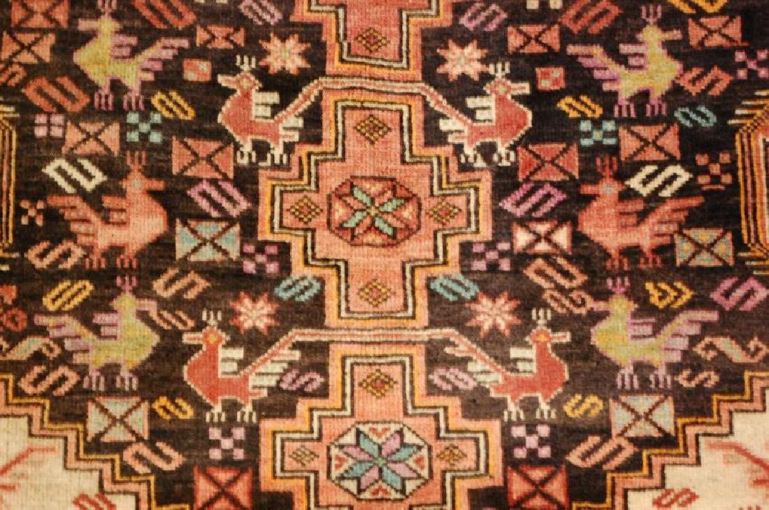 Vintage Persian Baluchi Baloochi Balochestan Rug 4.6x7 - 7