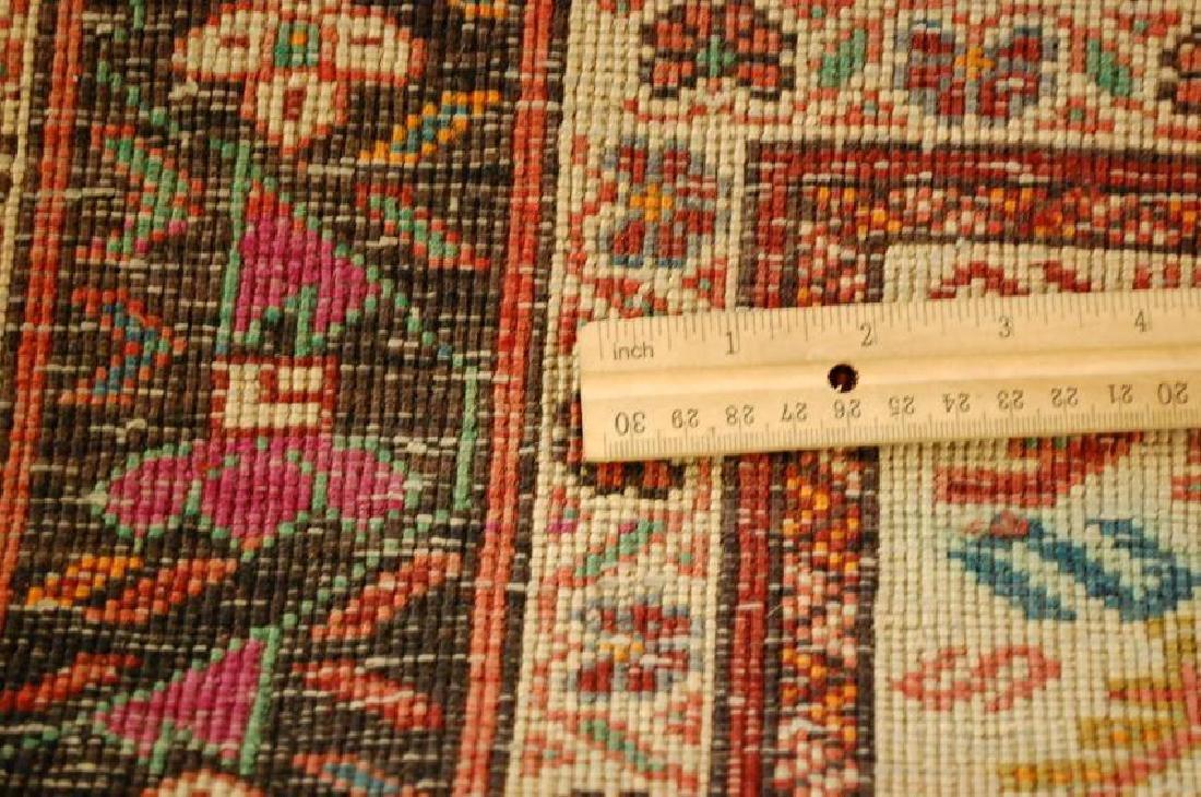 Vintage Persian Baluchi Baloochi Balochestan Rug 4.6x7 - 9