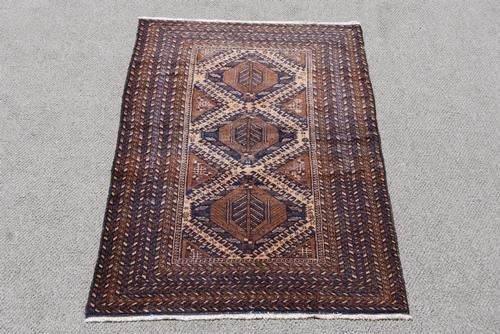 Hand Woven Persian Balooch Rug 3.7x6.2