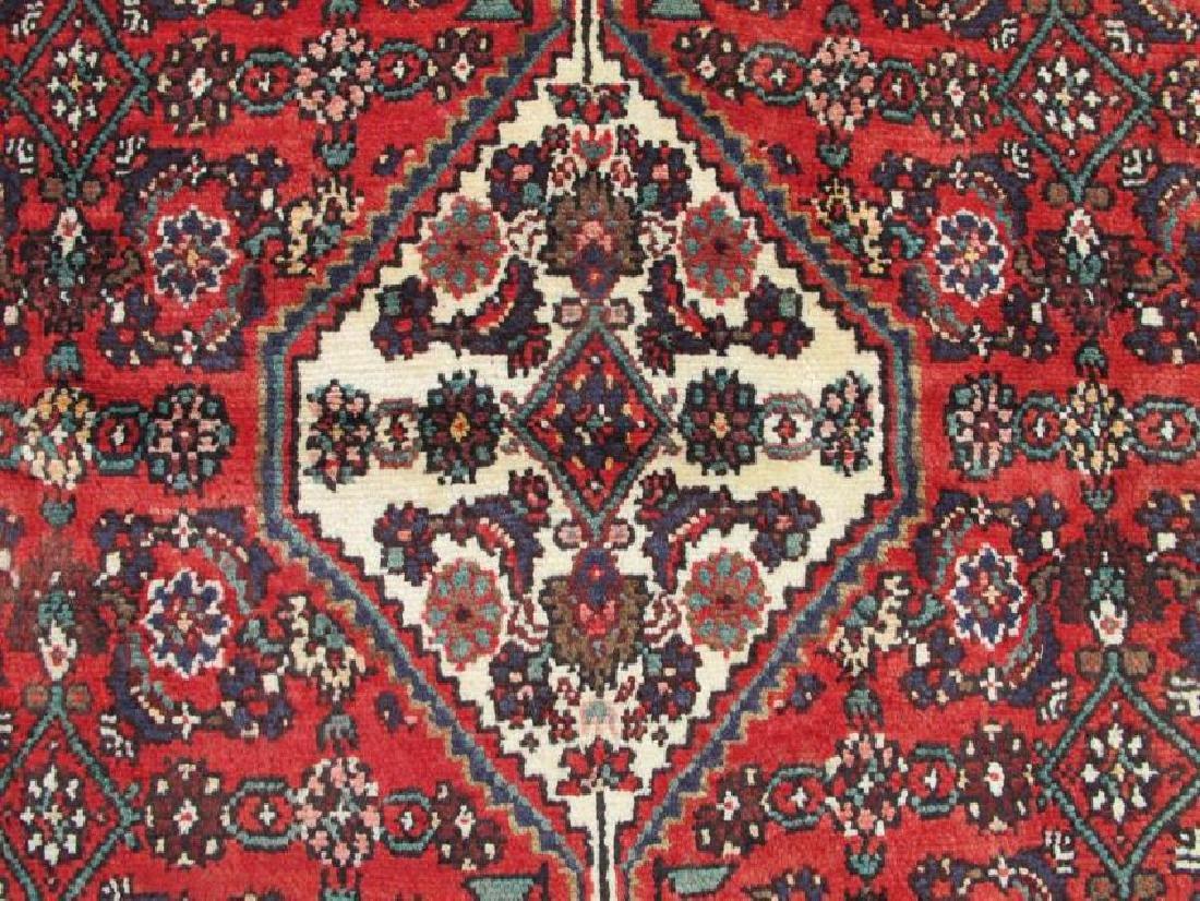 Handmade Semi Antique Persian Hosseinabad Rug 10.3x7.1 - 4