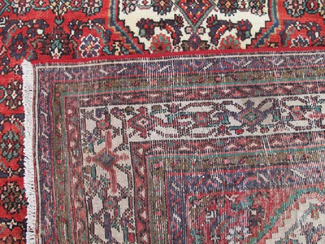 Handmade Semi Antique Persian Hosseinabad Rug 10.3x7.1 - 5
