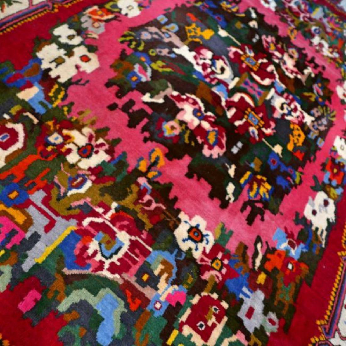 Special Flower Design Bakhtiar Semi Antique Rug 8.1x5.6 - 4