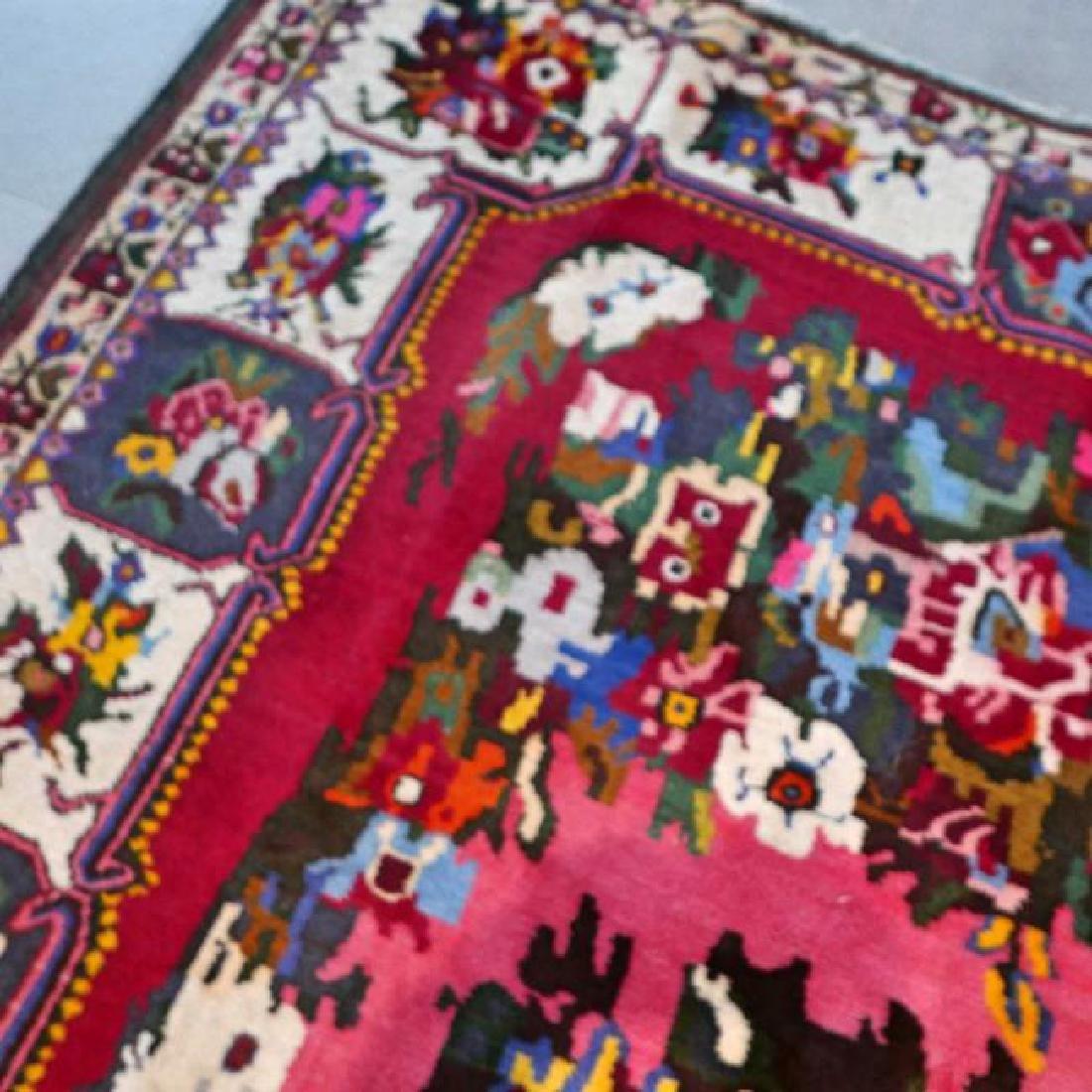Special Flower Design Bakhtiar Semi Antique Rug 8.1x5.6 - 6