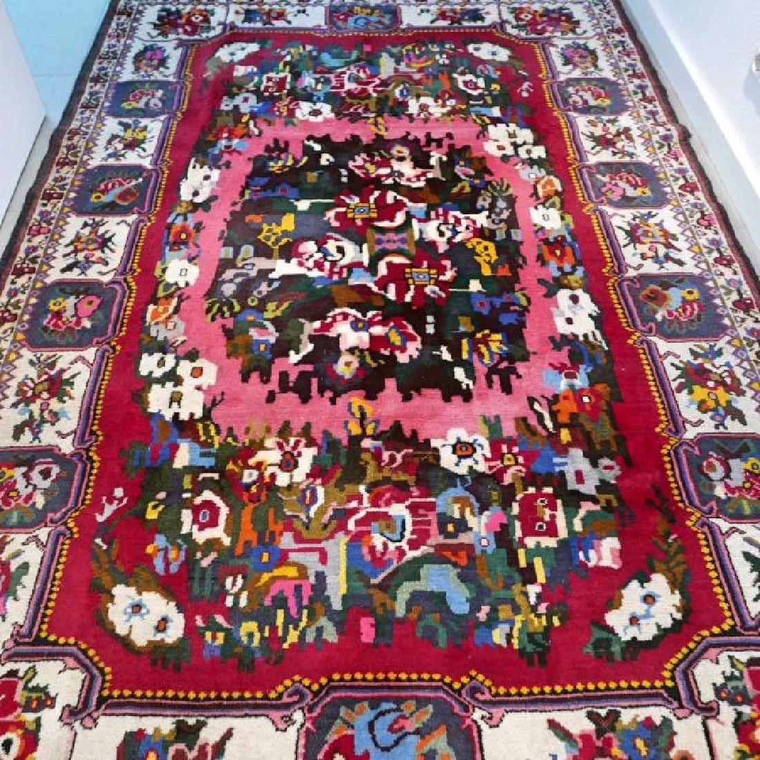 Special Flower Design Bakhtiar Semi Antique Rug 8.1x5.6 - 7