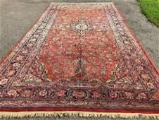 Antique Persian Sarouk Design Rug 9x17