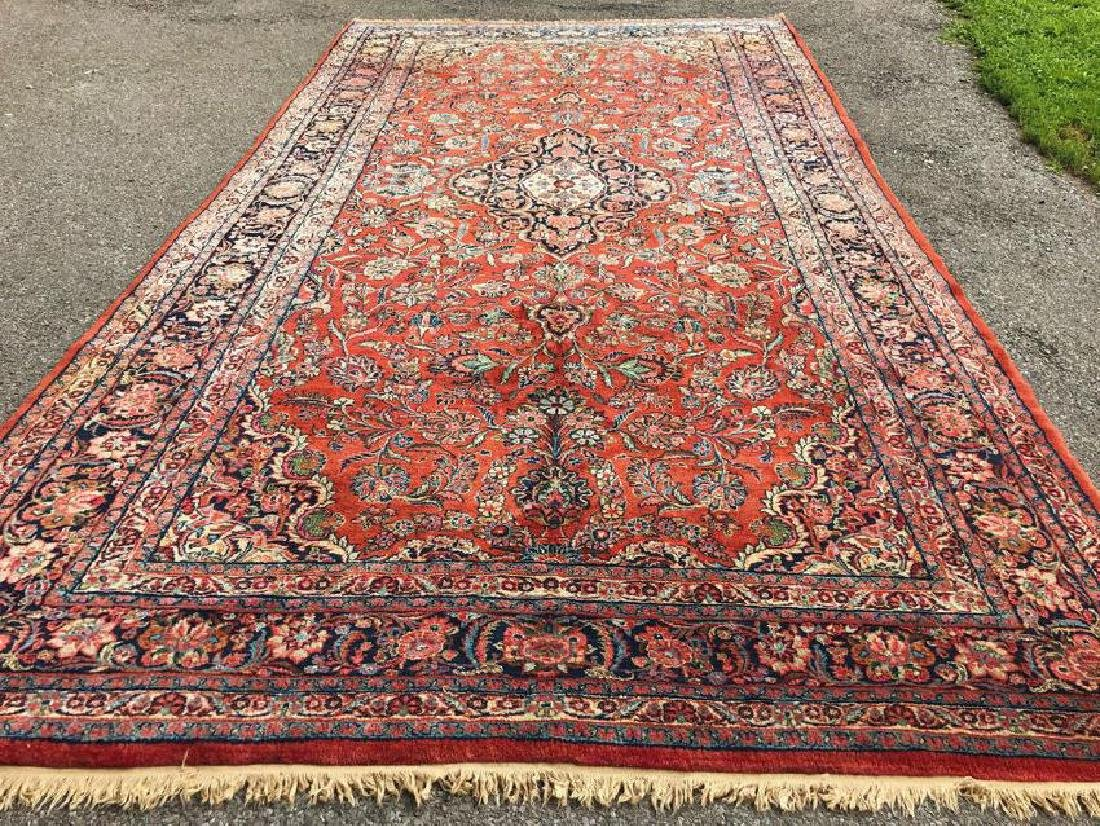 Antique Persian Sarouk Design Rug 9x17