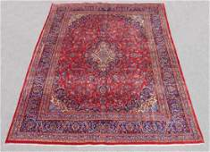 Handmade Persian Kashan Rug 10x13