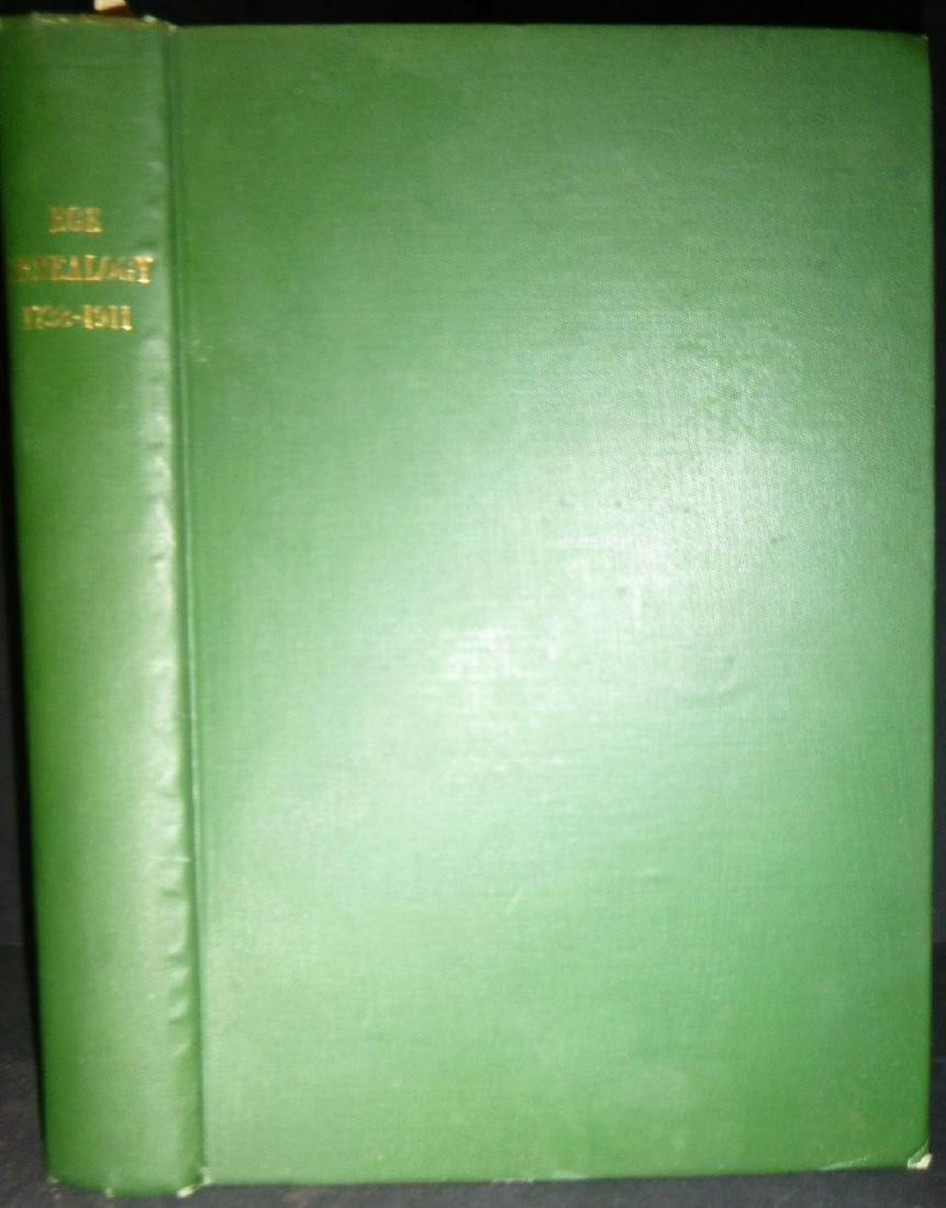 Rev. Thompson P. Ege DD- Geneology of the Ege Family