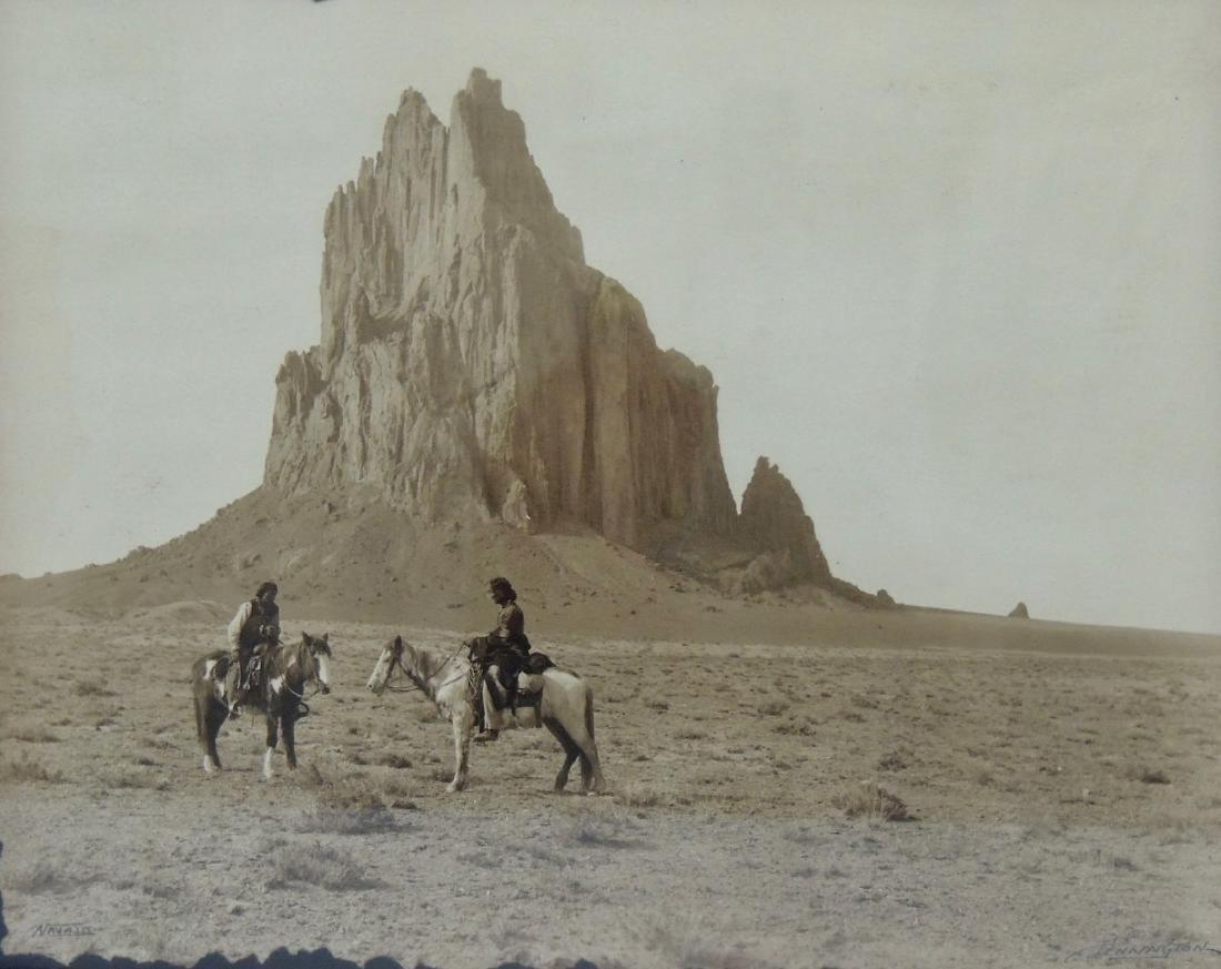 1914 Sepia Navajo Photograph by William Pennington