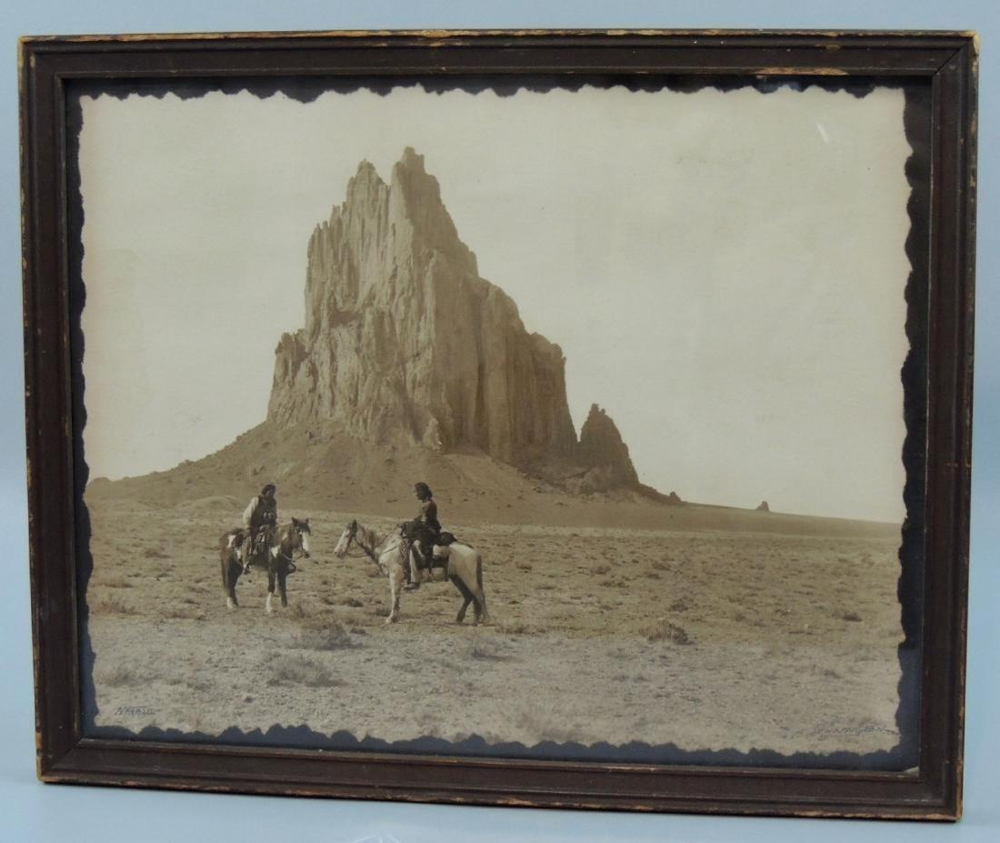 1914 Sepia Navajo Photograph by William Pennington - 2