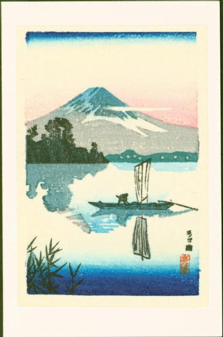 Koitsu Tsuchiya 4 Small Woodblock Prints - 2