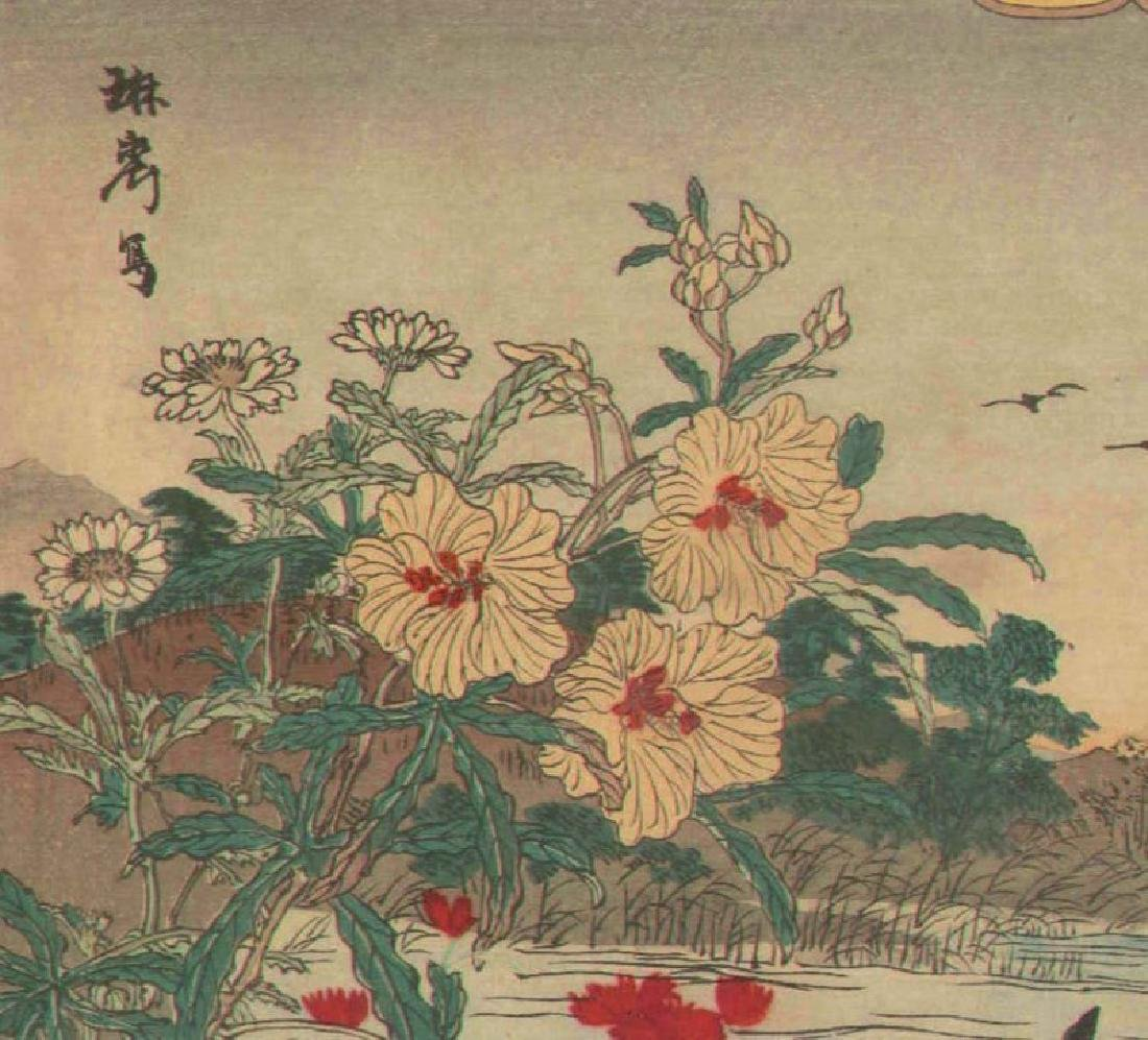 Rinsai Utsushi Woodblock Cormorants - 5