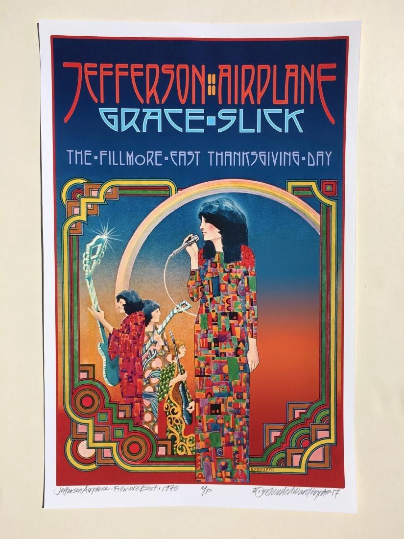 DAVID BYRD - Jefferson Airplane Poster