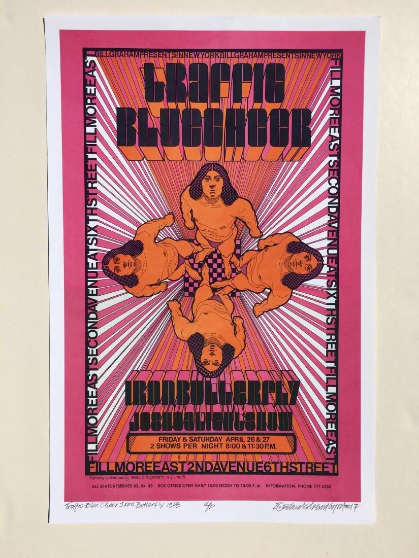 DAVID BYRD - Traffic/Blue Cheer Poster