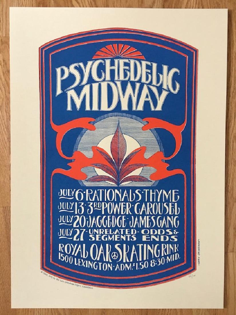 GARY GRIMSHAW - PSYCHEDELIC MIDWAY Poster