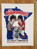 THE REPLACEMENTS Poster  MIDWAY STADIUM