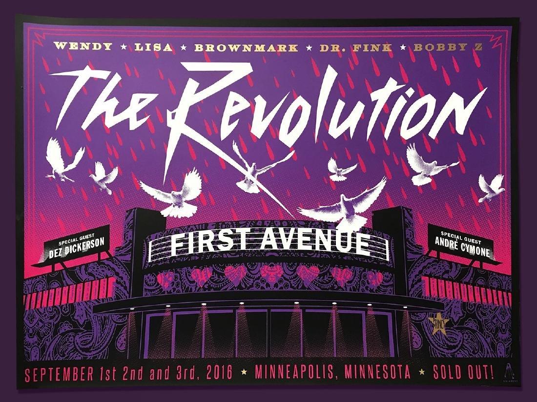 Kii Arens Prince The Revolution Minneapolis Poster