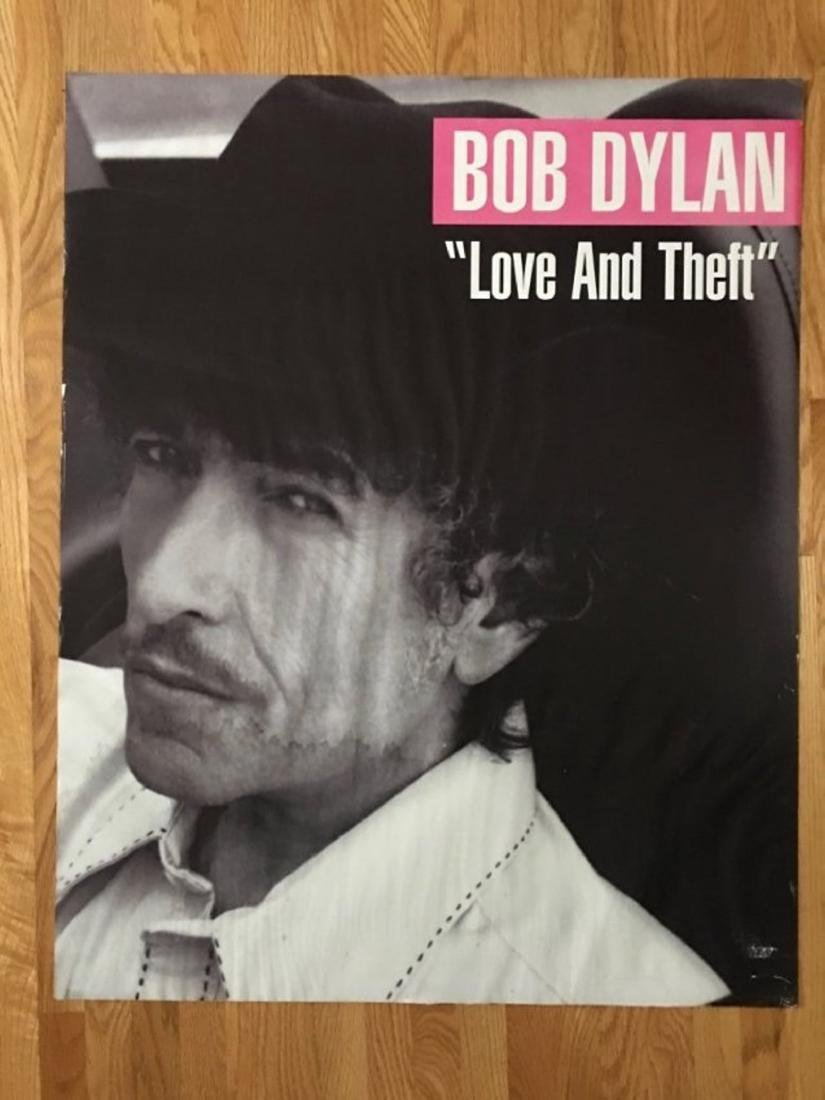 BOB DYLAN - LOVE AND THEFT POSTER