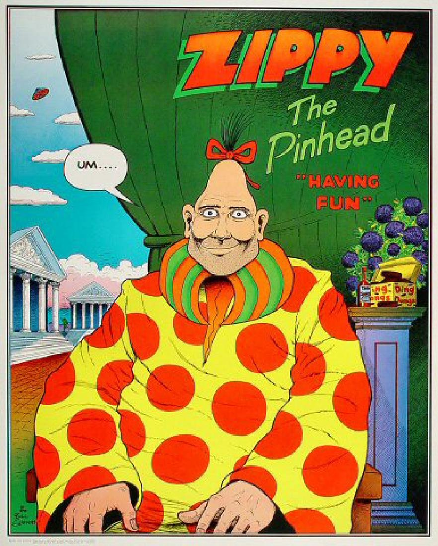 Bill Griffith - Zippy The Pinhead Poster