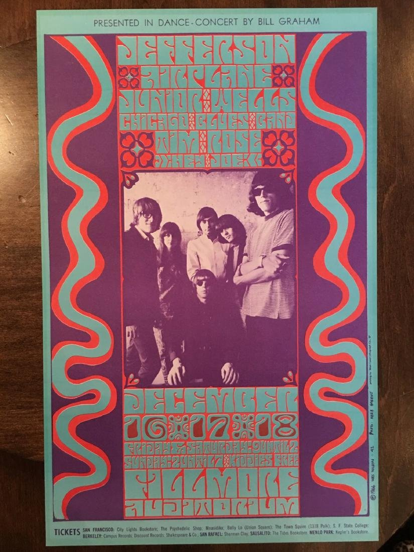 JEFFERSON AIRPLANE BG042 (2nd)