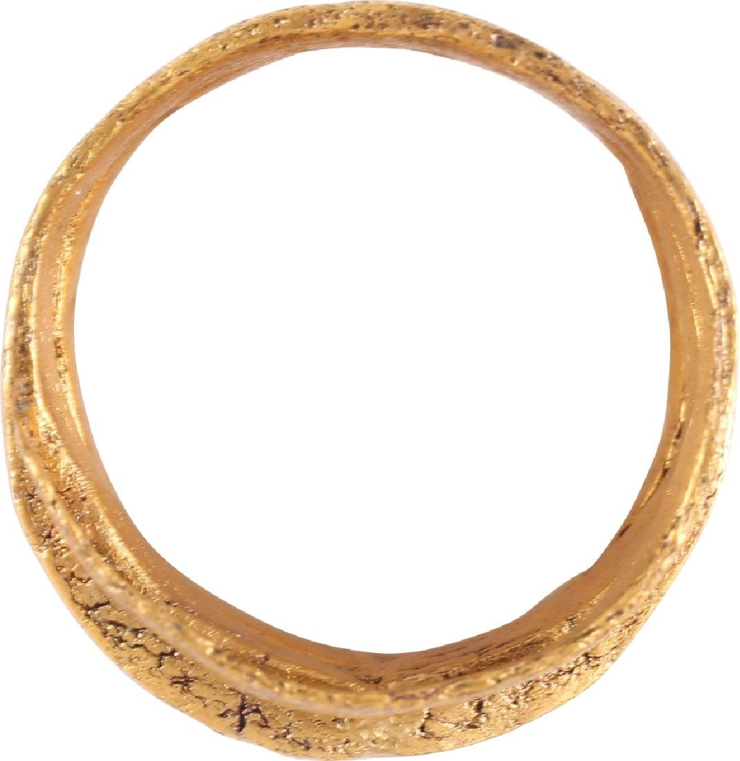 FINE VIKING COIL RING 10th-11th CENTURIES AD - 2