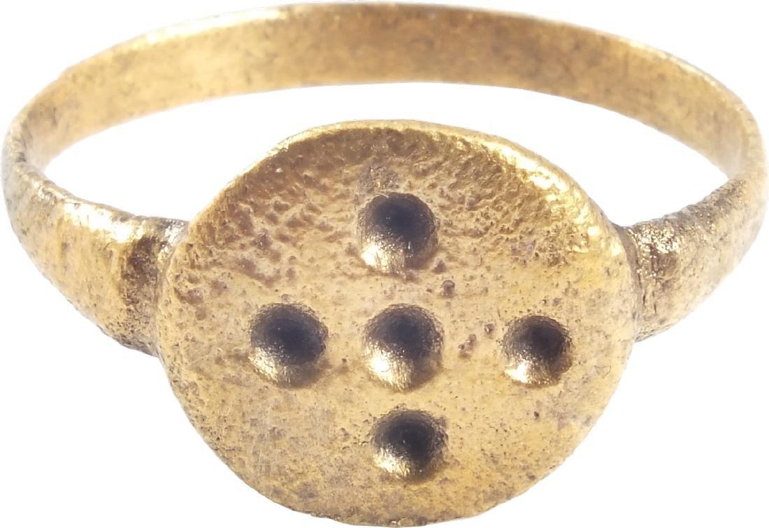 EUROPEAN PILGRIM'S RING, 5th-7th CENTURIES