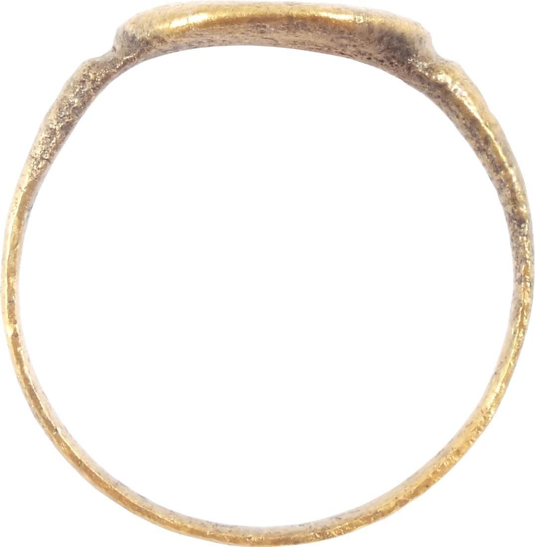 EUROPEAN PILGRIM'S RING, 5th-7th CENTURIES - 2