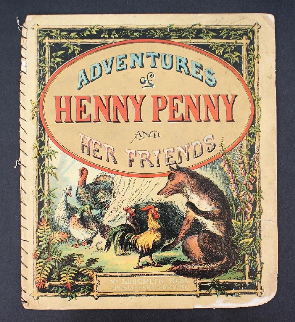 Antique Victorian MCLOUGHLIN 1880 ADVENTURES Book