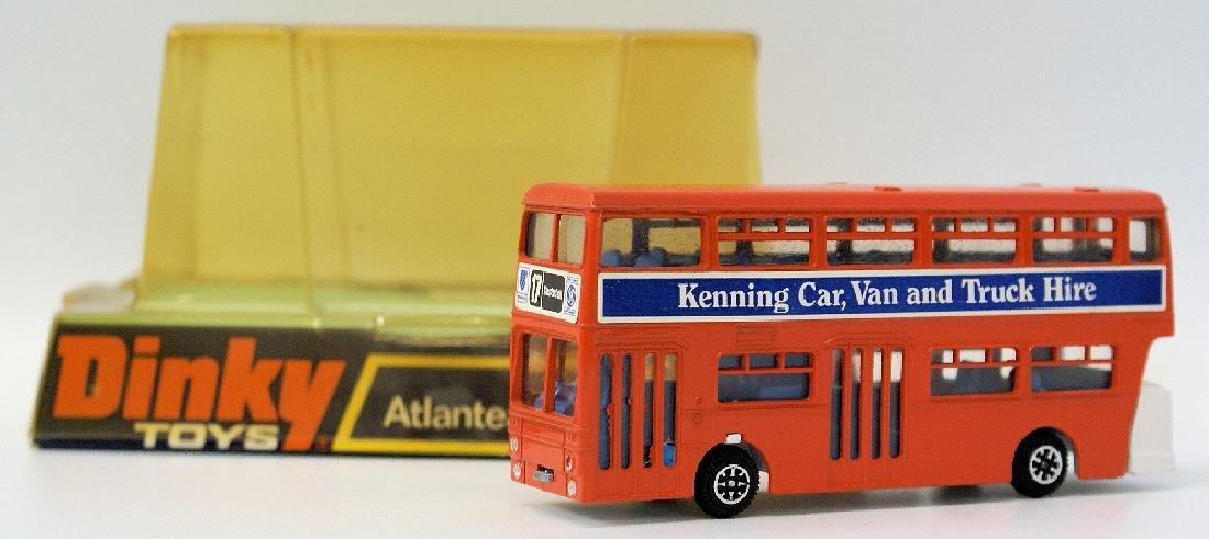 1970s DINKY #291 Diecast ATLANTEAN CITY BUS Kenning Car - 2
