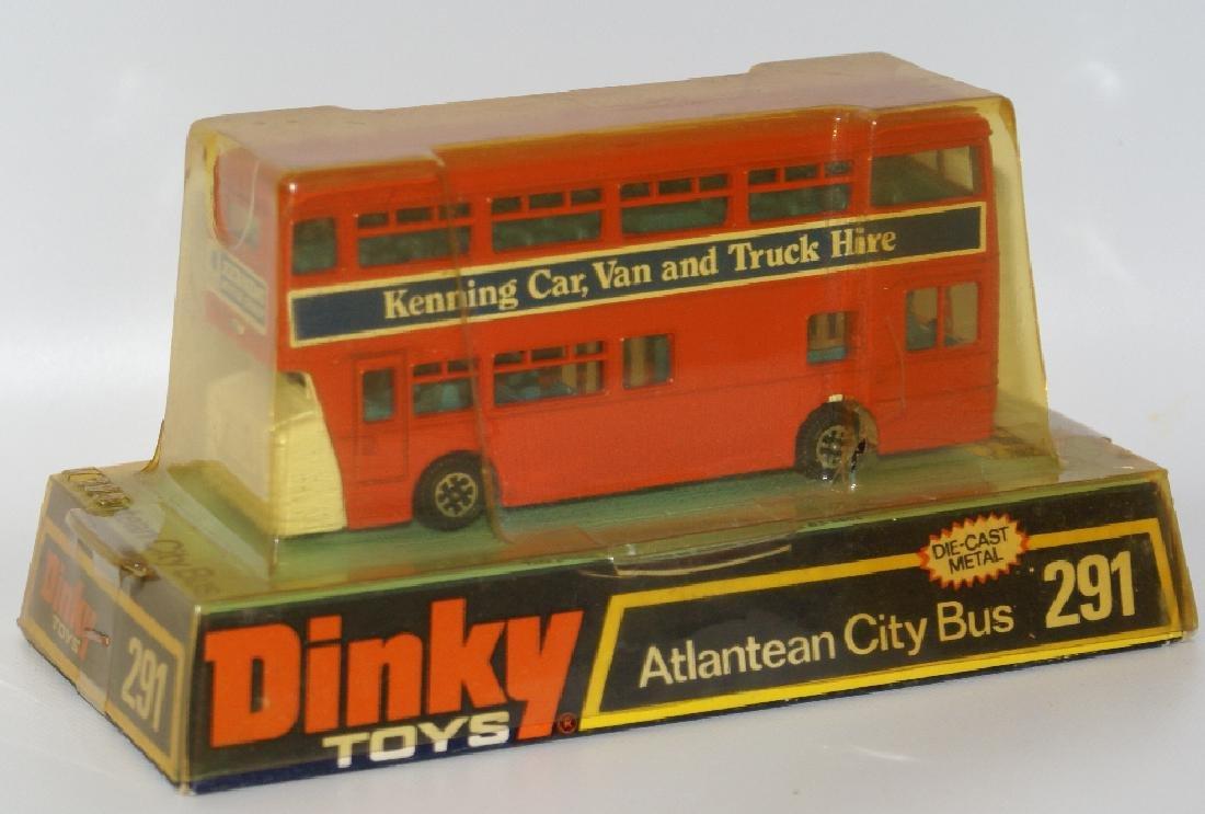 1970s DINKY #291 Diecast ATLANTEAN CITY BUS Kenning Car - 3