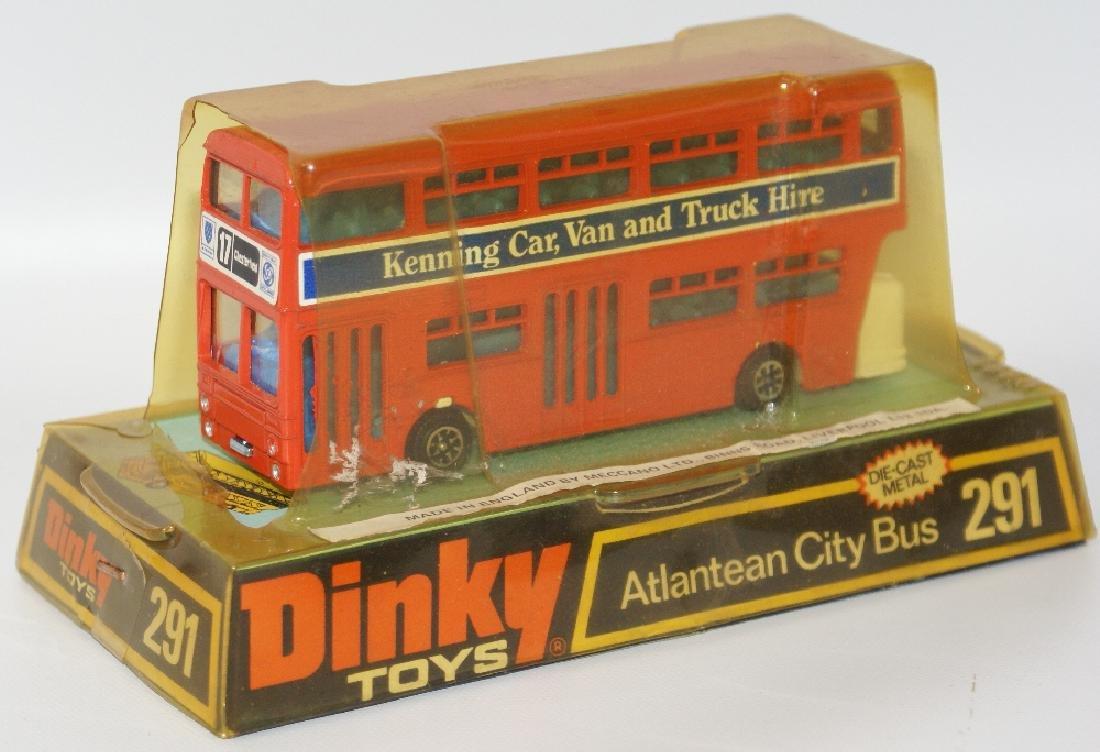 1970s DINKY #291 Diecast ATLANTEAN CITY BUS Kenning Car - 4